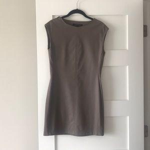BCBG Mini Dress Faux Leather